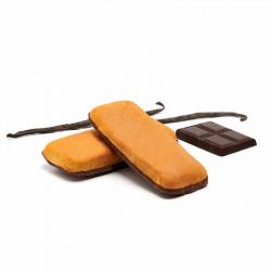PLUMCAKE DE VAINILLA CON BASE DE CHOCOLATE