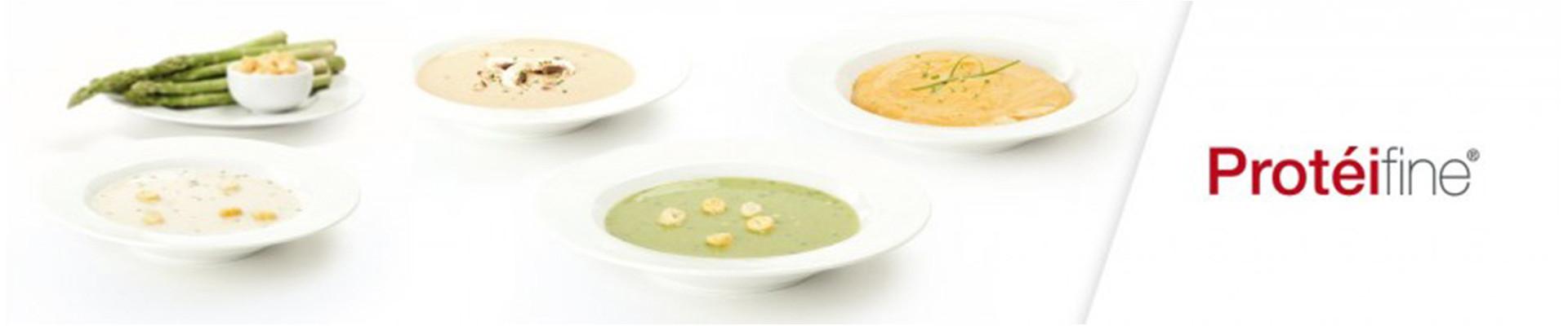 Soupes, Crèmes et Potages Protéifine